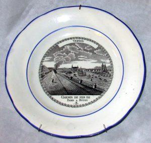 Assiette VERNON 3 1844 Image