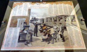 Almanach des Postes et des Télégraphes - Motif Chemin de Fer 1914 Image